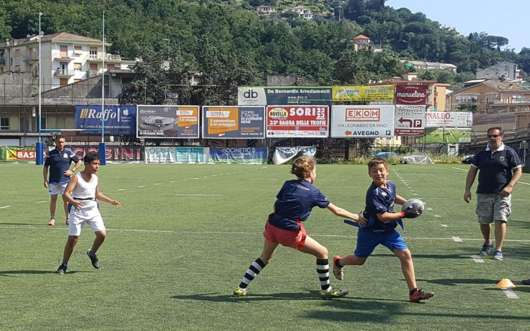 """Per i giovanissimi dell'Imperia Rugby, prospettiva Rimini con il """"tag rugby"""" !"""