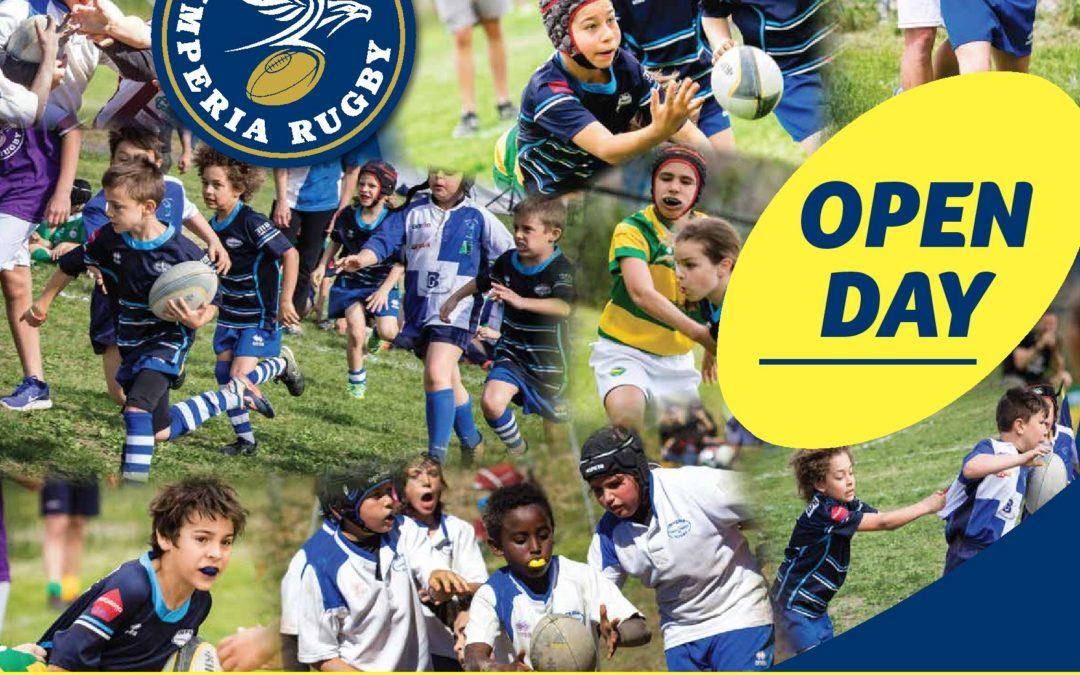 A maggio continuano i fine settimana ovali: Open Day ad Imperia e i convocati dell'Imperia Rugby under 14 a difendere i colori della Liguria