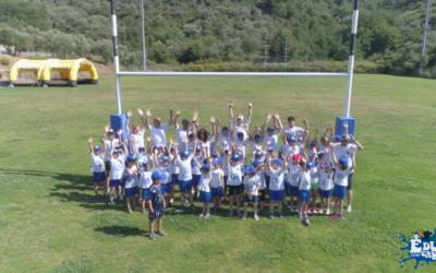 """Conclusa la seconda edizione dell'Educamp Smart al """"Pino Valle"""" con organizzazione Imperia Rugby."""