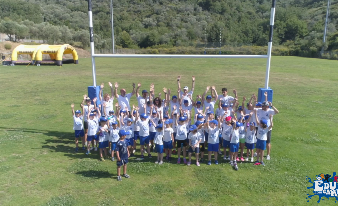 """Prosegue con grande successo Educamp 2021 presso il sistema del Rugby imperiese nel complesso del """"Pino Valle"""""""